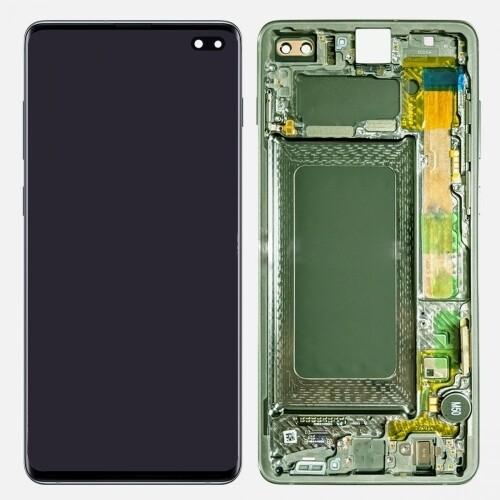 Samsung Galaxy S10 Plus Bildschirm Grün