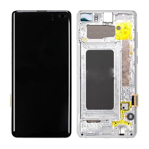 Samsung Galaxy S10 Plus Bildschirm Weiss