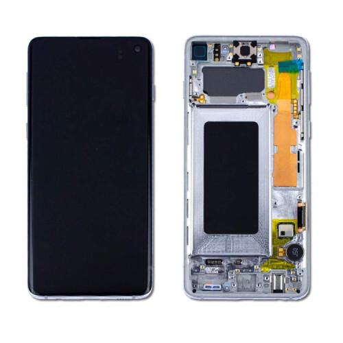 Samsung Galaxy S10E Bildschirm Weiss