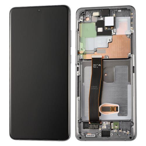 Komplett Ersatzbildschirm Samsung Galaxy S20 Ultra Cosmic Gray