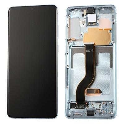 Komplett Ersatzbildschirm Samsung Galaxy S20 Blue