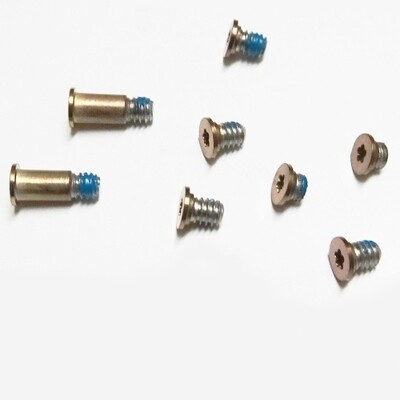 """Bodengehäuse Schraube für MacBook Retina 12,6 """"A1534 Rose Gold 8 Stück in einem Satz"""