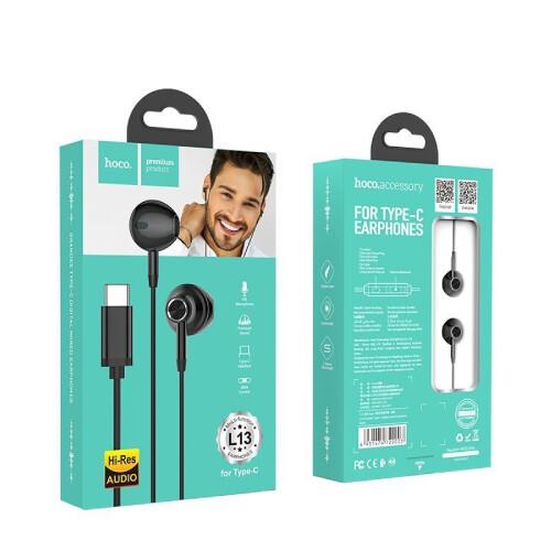 HOCO L13 Typ C Kopfhörer mit Mikrofon