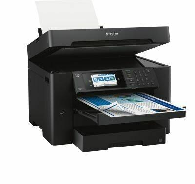 Multifunktionsdrucker WorkForce WF-7840DTWF Schwarz