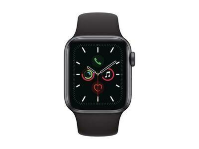 Apple Watch 5 Schwarz Secondhand