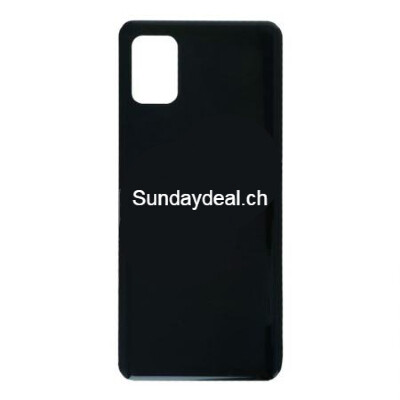 Batterietür mit Kleber für Samsung Galaxy A31Schwarz Ori