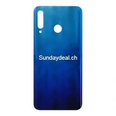 Batterietür mit Klebstoff für Huawei P30 lite 48M Europäische Version, MAR-L01A, MAR-L21A, MAR-LX1A Blau OEM