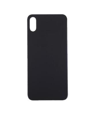 iPhone XS Max Backcover Rückseite Akkudeckel Glas in Schwarz