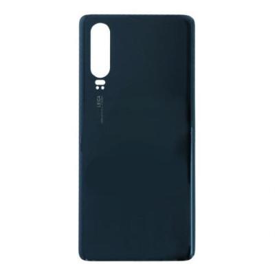Batterietür mit Klebstoff für Huawei P20 lite Schwarz Ori