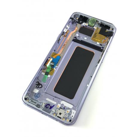 Original LCD Display in Violett grau für Samsung Galaxy S8 PLUS