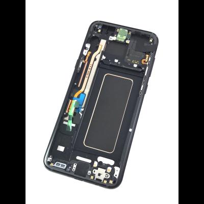 LCD Display in Schwarz (Midnight Black) für Samsung Galaxy S8 PLUS
