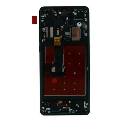 LCD Display mit Rahmen für Huawei P30 Pro