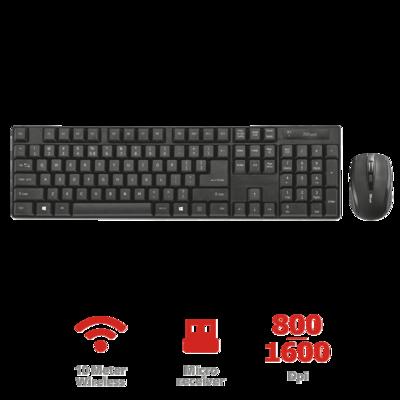 TRUST Wireless Keyboard Mit Maus