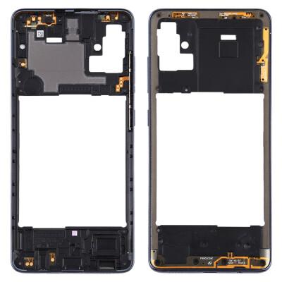 Mittlerer Rahmen für Samsung Galaxy A51 Schwarz
