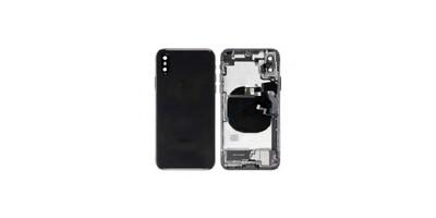 Gehäuse Montage für iPhone X in Schwarz
