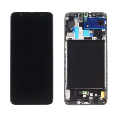 Samsung Galaxy A70 Bildschirm Schwarz