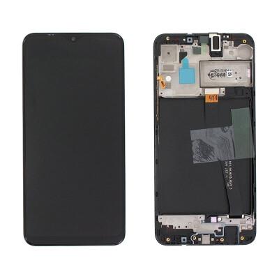 LCD Display für Samsung A10 in Schwarz