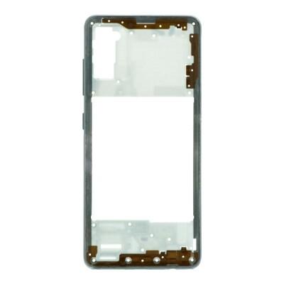 Mittlerer Rahmen für Samsung Galaxy A41 Weiss