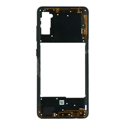 Mittlerer Rahmen für Samsung Galaxy A41 Schwarz