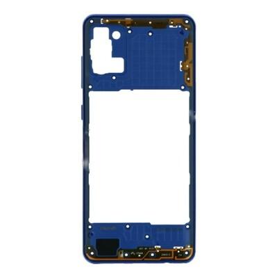 Mittlerer Rahmen für Samsung Galaxy A31 Blau