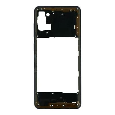 Mittlerer Rahmen für Samsung Galaxy A31 Schwarz