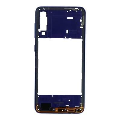 Mittlerer Rahmen für Samsung Galaxy A30s Blau