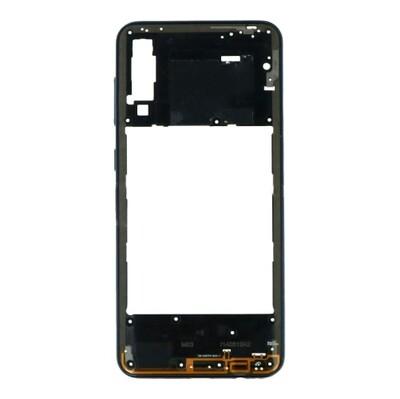 Mittlerer Rahmen für Samsung Galaxy A30s Schwarz