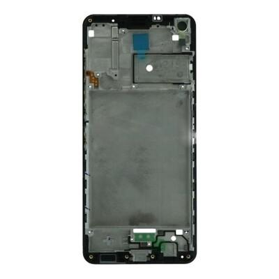 Frontgehäuse für Samsung Galaxy A21s Schwarz