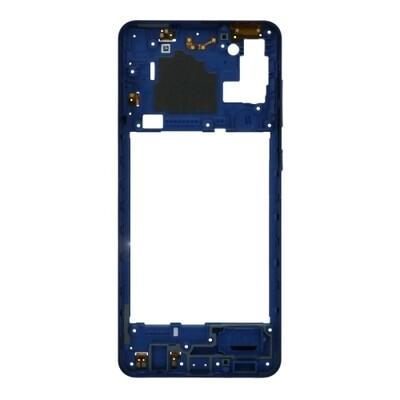 Mittlerer Rahmen für Samsung Galaxy A21s Blau
