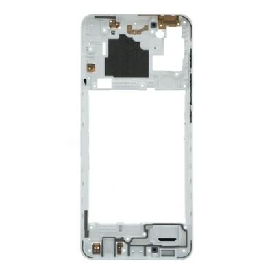 Mittlerer Rahmen für Samsung Galaxy A21s Weiss