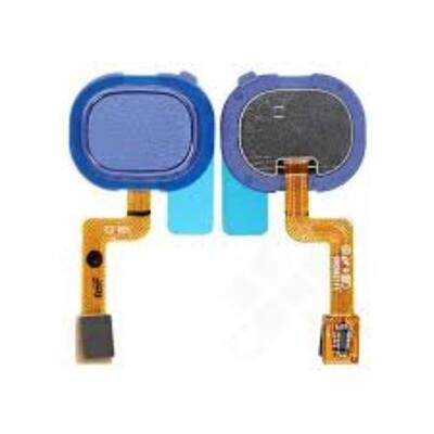 Fingerabdruck Sensor Flex Kabel für Samsung Galaxy A21s Blau
