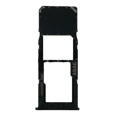 SIM-Karten-Fach für Samsung Galaxy A21s Einzelkarte Version Schwarz