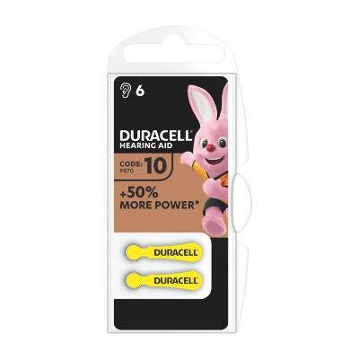 Duracell Hearing Aid Batterie PR70