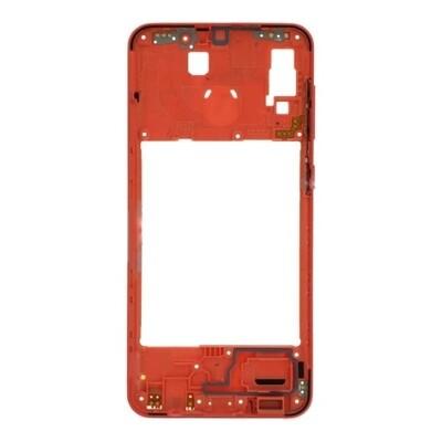 Mittlerer Rahmen für Samsung Galaxy A20 Orange