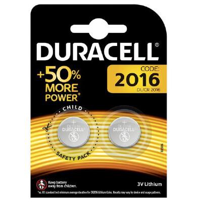 Duracell CR2016 3V Batterie