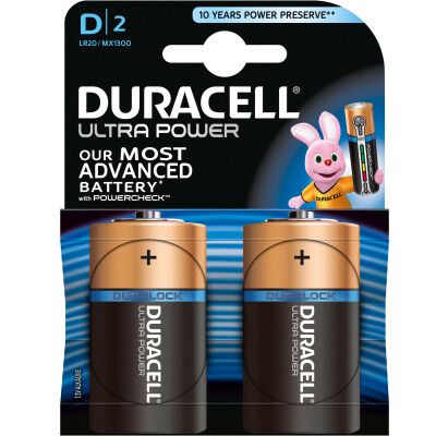 Duracell LR20/MX1300 (2 Stück)