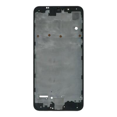 Frontgehäuse für Samsung Galaxy A10 A105F Einzelkarte Version Schwarz