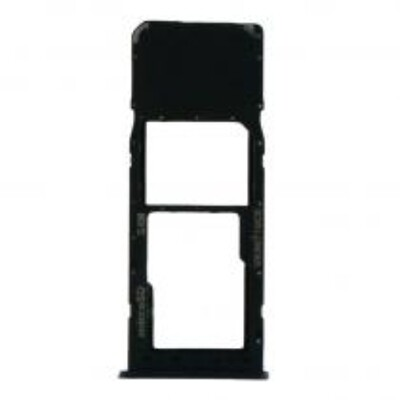 SIM-Karten-Fach für Samsung Galaxy A10 Einzelkarte Version Schwarz