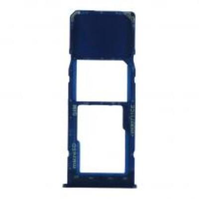 SIM-Karten-Fach für Samsung Galaxy A10 Einzelkarte Version dunkelblau
