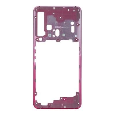 Mittlerer Rahmen für Samsung Galaxy A9 (2018) A920 Pink
