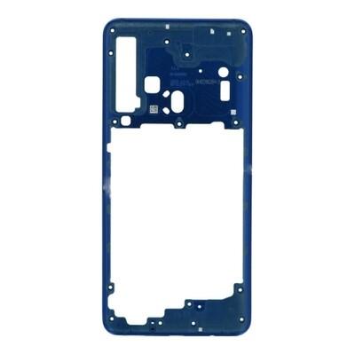 Mittlerer Rahmen für Samsung Galaxy A9 (2018) Blau