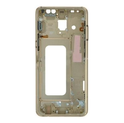 Frontgehäuse für Samsung Galaxy A8 2018/A5 2018 Schwarz