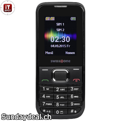 Swisstone SC 230 Dual SIM mobile phone (2G)