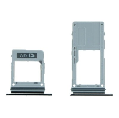 SIM&SD-Kartenfach für Samsung Galaxy A8 2018/A5 2018/A8 Plus 2018 Einzelkartenversion Lila