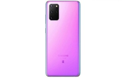 Samsung Galaxy S20 Plus /5G Hinterseite Lila