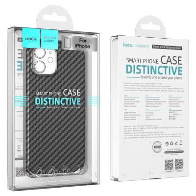 Hoco Carbon Fiber Back Cover für iPhone 12/12 Pro/12 Pro Max/12 Mini