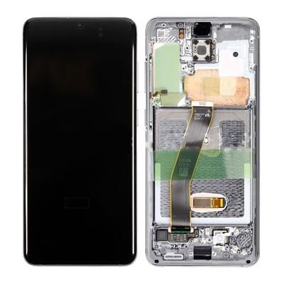 Samsung Galaxy S20 /5G Bildschirm Cloud White