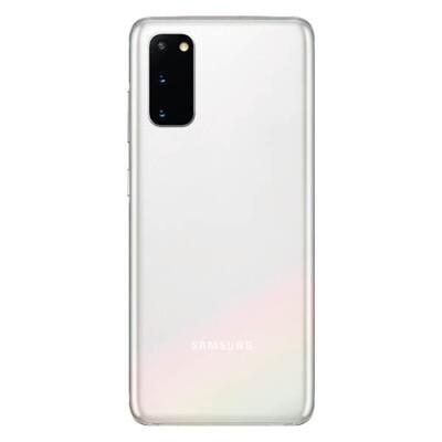 Ersatz Akkuabdeckung für Samsung S20 /5G Hinterseite Weiss