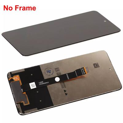 Display-Ersatz für Huawei P smart 2021/Honor 10X lite/Y7a Schwarz