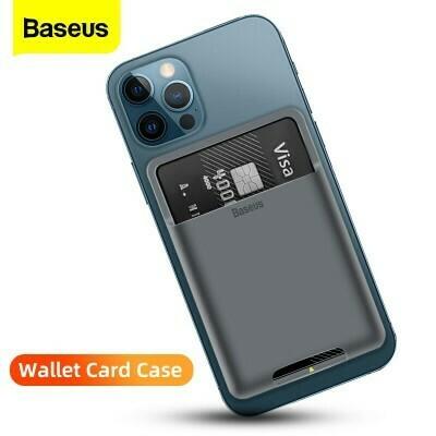 Baseus back stick silicone card bag